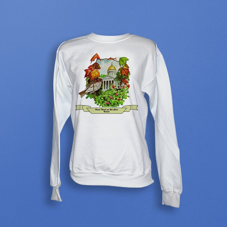 Vermont  Art of the State Sweatshirt image 0