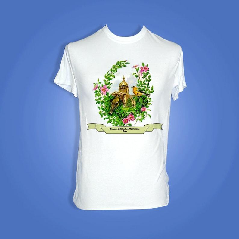 Iowa  Art of the State T-Shirts image 0