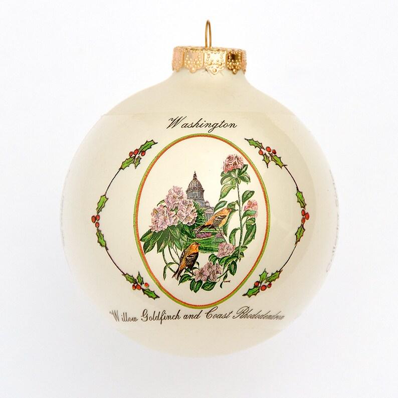 Washington  Art of the States Christmas Ornaments image 0