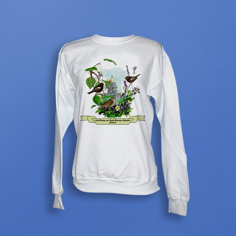 Colorado  Art of the State Sweatshirt image 0