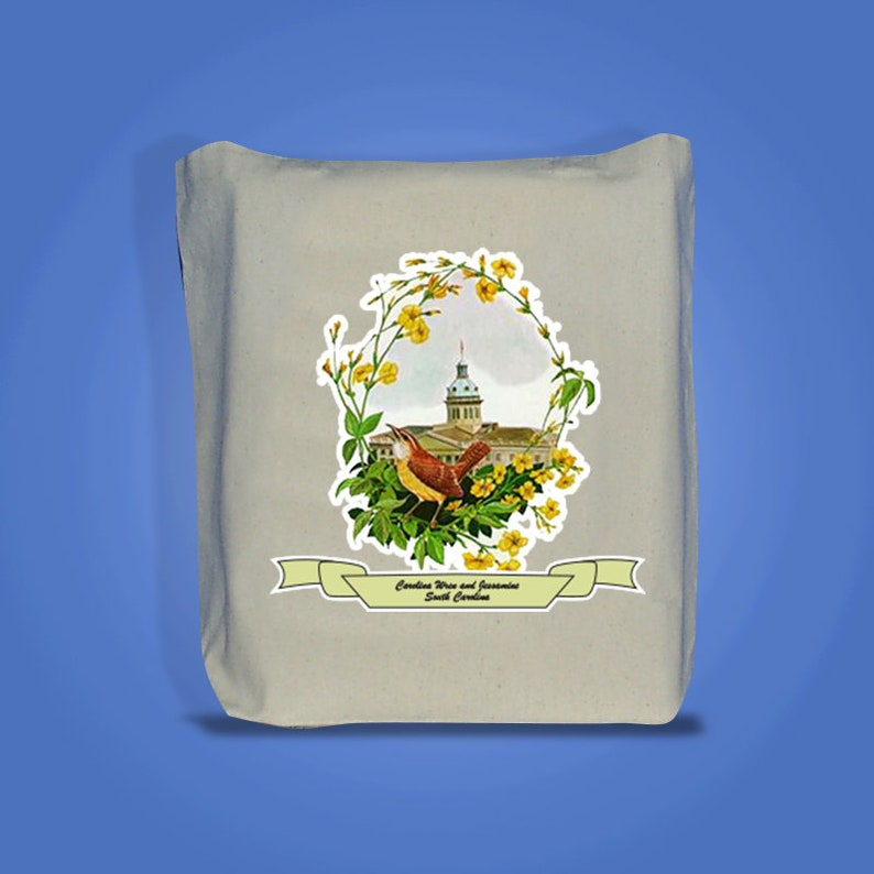 South Carolina  Art of the State Totebags image 0