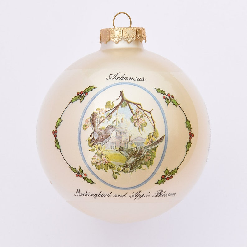 Arkansas  Art of the State Christmas Ornaments image 0