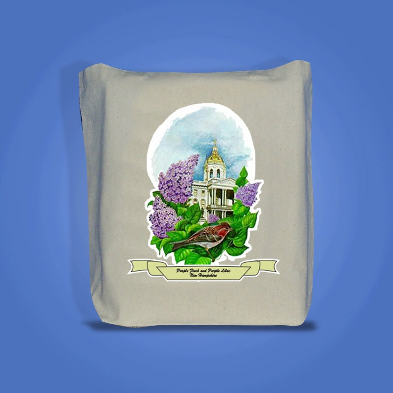 New Hampshire  Art of the State Totebags image 0
