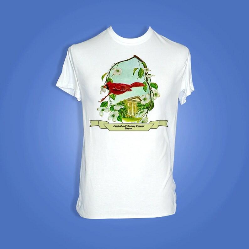 Virginia  Art of the State T-Shirts image 0