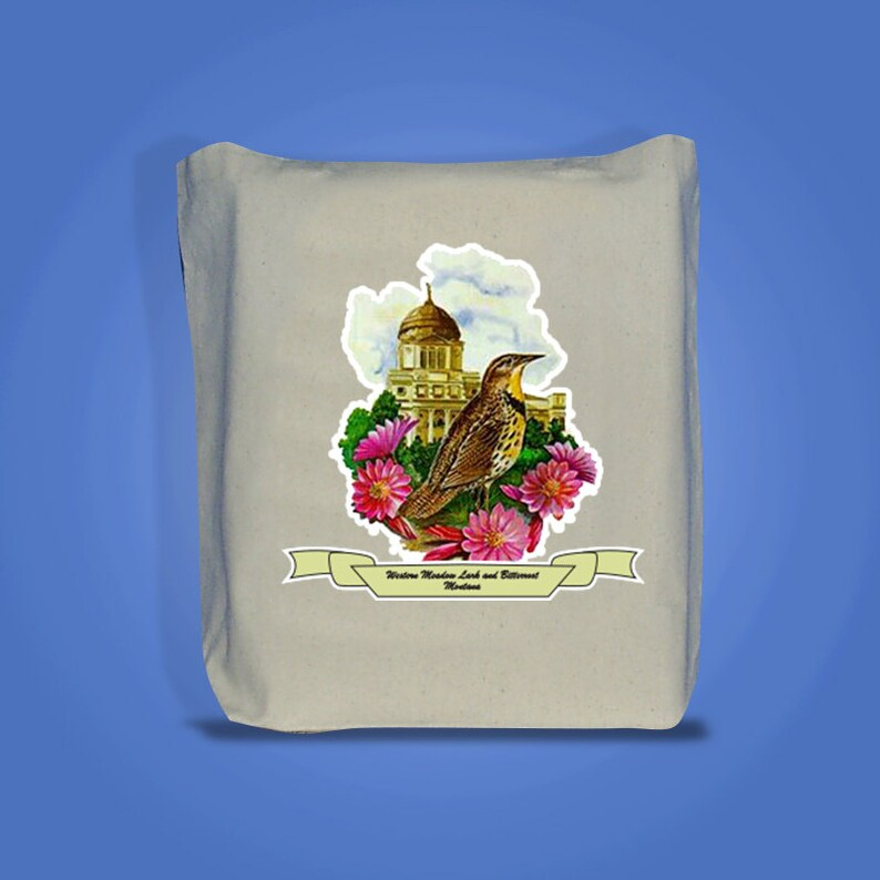 Montana  Art of the State Totebags image 0