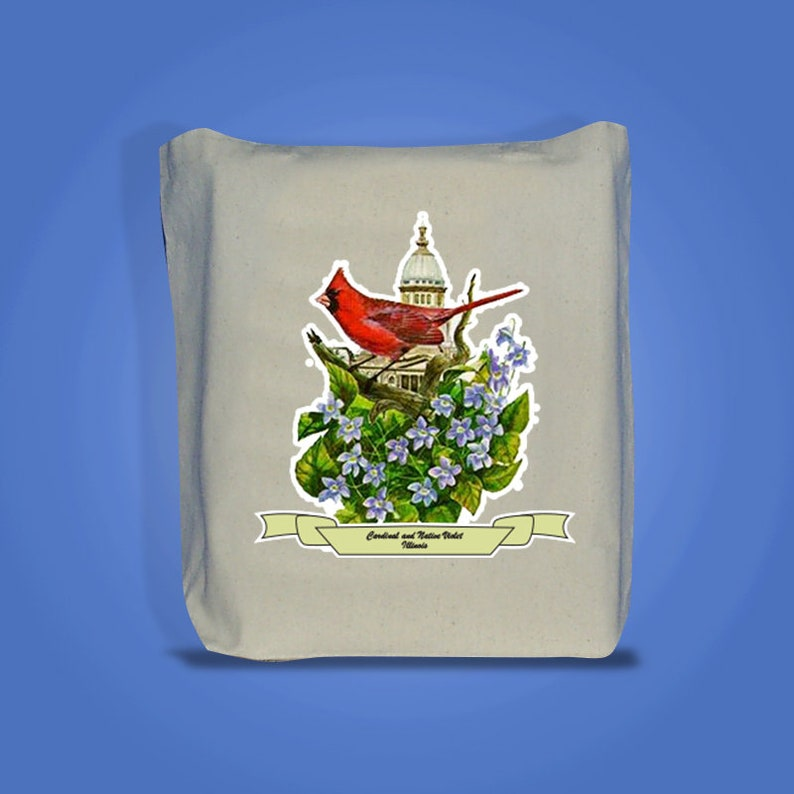 Illinois  Art of the State Totebags image 0