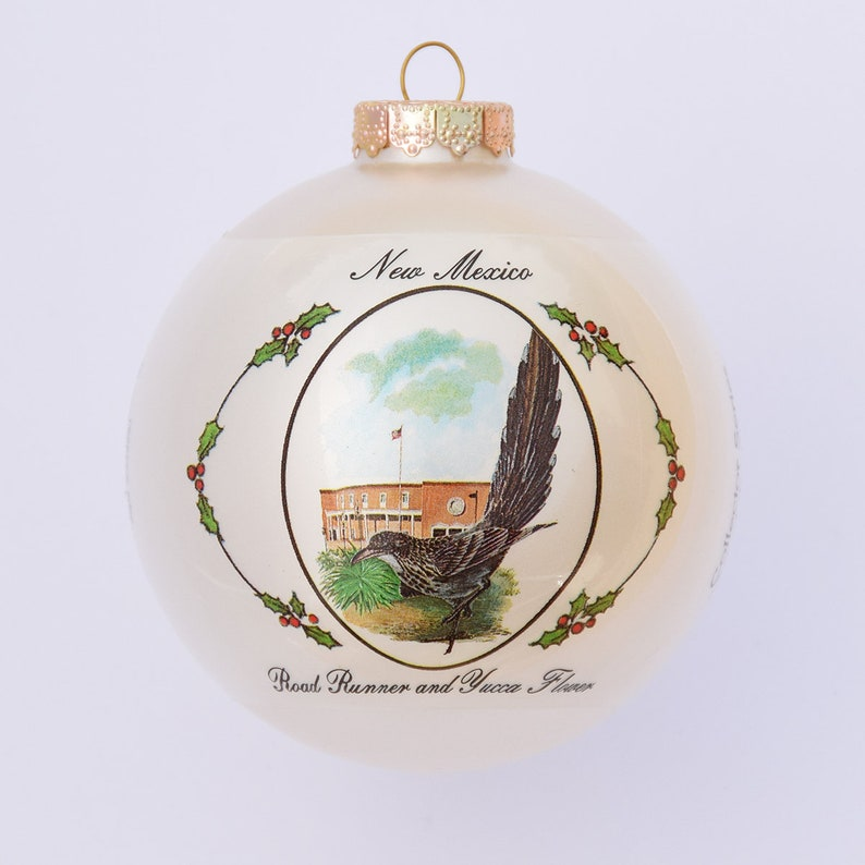 New Mexico  Art of the States Christmas Ornaments image 0