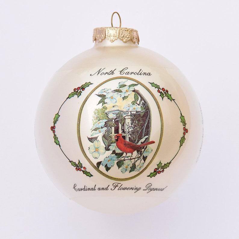 North Carolina  Art of the States Christmas Ornaments image 0