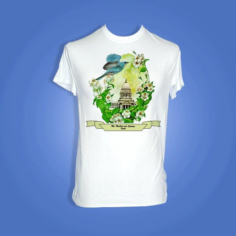 Idaho  Art of the State T-Shirts image 0
