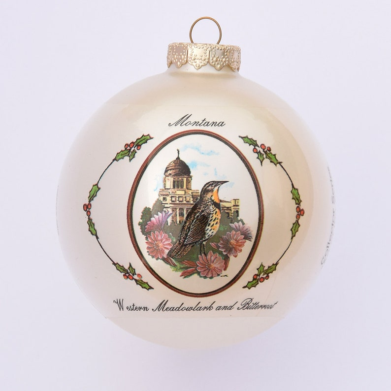 Montana  Art of the States Christmas Ornaments image 0