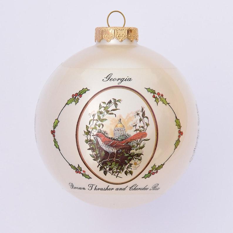 Georgia  Art of the States Christmas Ornaments image 0