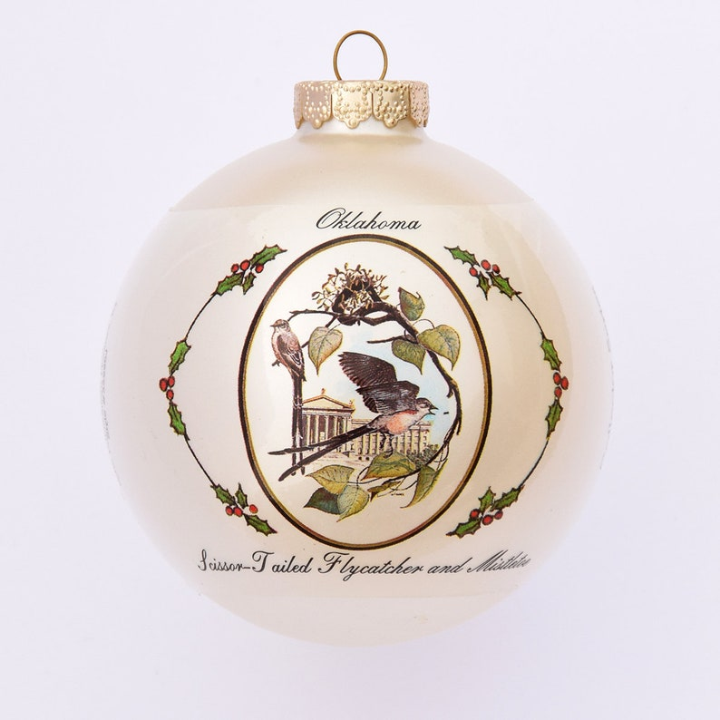 Oklahoma  Art of the States Christmas Ornaments image 0
