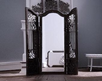 dollhouse miniature mirror section 1:12