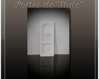 """1:12 miniature """"Style"""" door"""