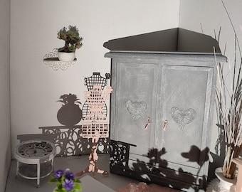 Decorative mannequin. - dollhouse Miniature 1:12