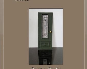 Part 4 - Wrought iron style ironwork grid - dollhouse  miniature 1:12