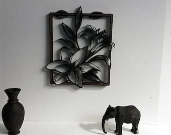 Wall decoration - miniature dollhouse 1:12