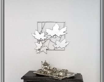 Frame line leaves - dollhouse miniature 1:12