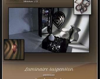 Suspension  kit - miniature dollhouse 1:12