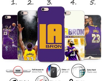 2a43759b88049a LEBRON JAMES la LAKERS 23 basketball palyer king legend design new thin uv  gel silicone phone case cover for iPhone 5 6 7 8 X Xs Xr Xs Max