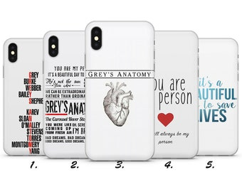 coque iphone xr grey s anatomy
