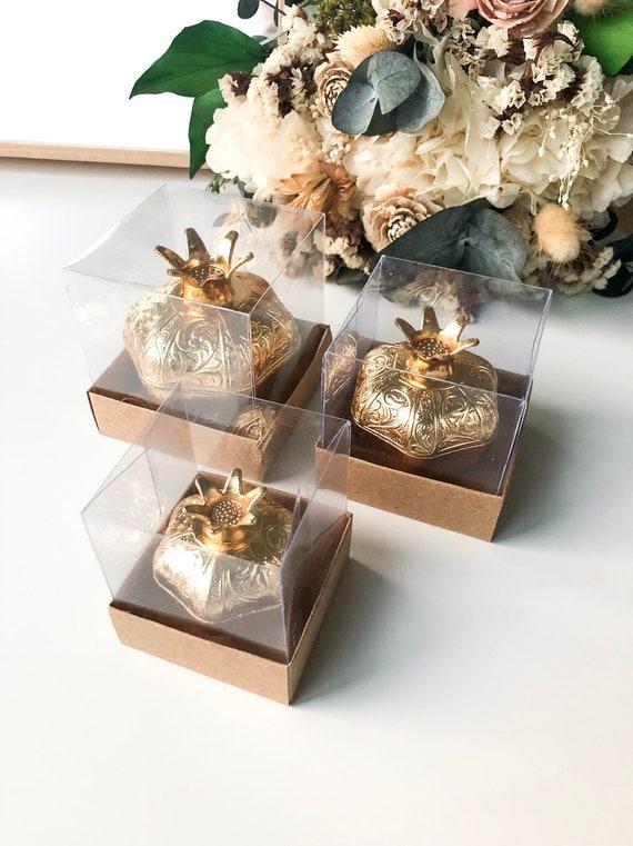 Gold wedding favors for guests unique wedding favor boxes | Etsy