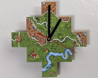 Carcasssone Board Game Clock