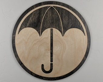 Umbrella Academy Wood Sign Wall Art