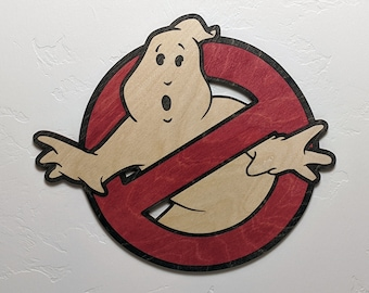 Ghostbusters Wood Sign Wall Art