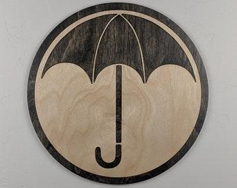 Umbrella Academy Wood Sign Wall Art
