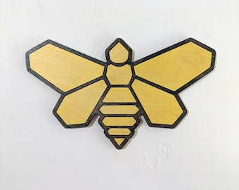 Golden Moth Breaking Bad Wood Sign Wall Art