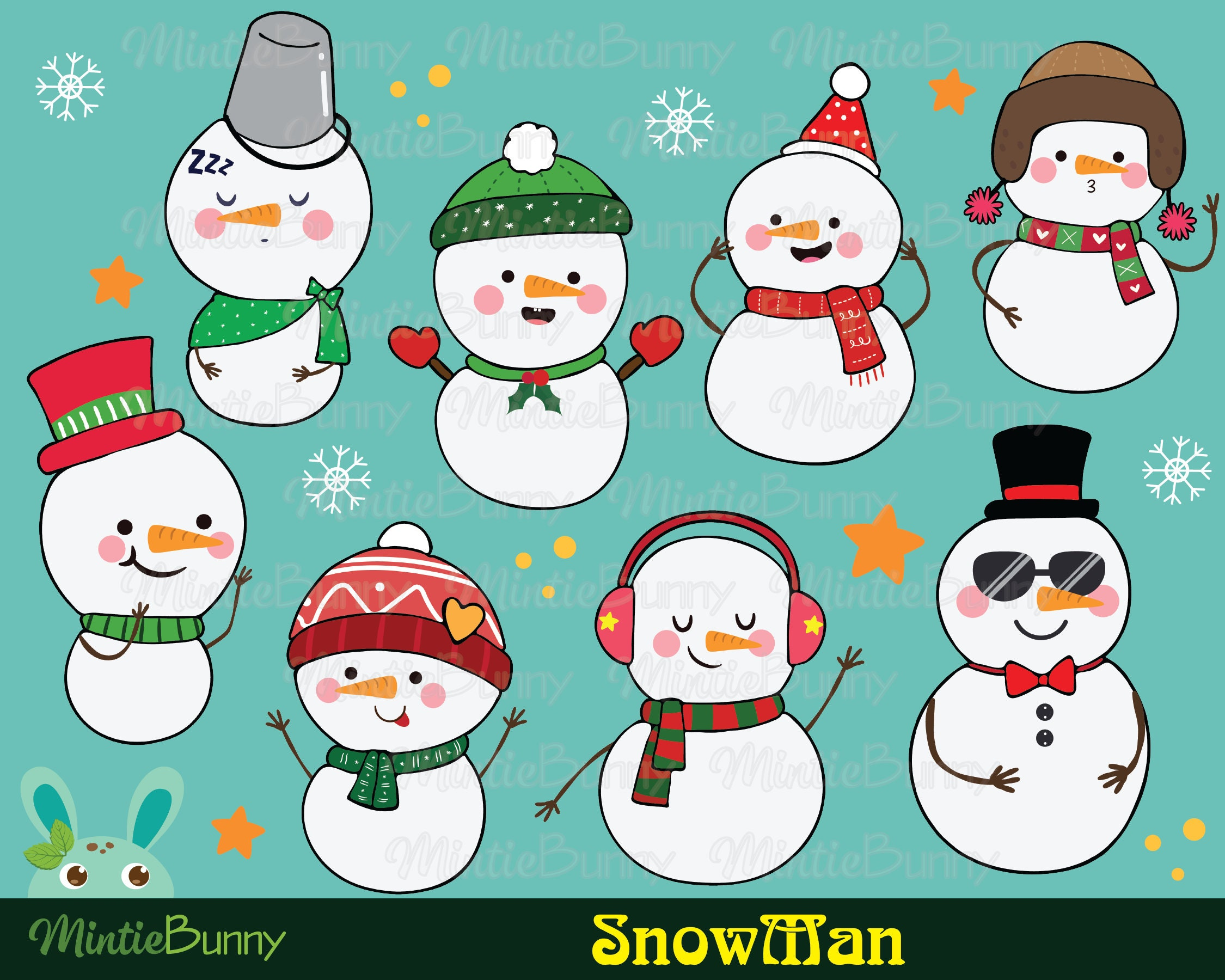 Free Snowman Image, Download Free Clip Art, Free Clip Art on Clipart Library