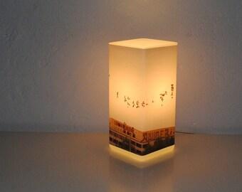 Individual square photo lamp