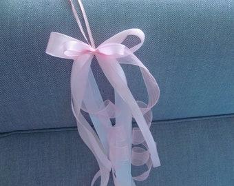 Schleife*Schultüte*Zuckertüte*Schultütenschleife*Einschulung*Pink*blau*silber