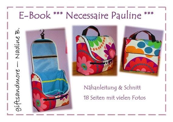 Ebook Necessaire Pauline | Etsy