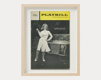 Collected Stories Playbill Vintage Broadway Musical Magazine Theatre Cover Print