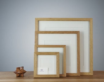 Wooden Picture Frame - quadratic