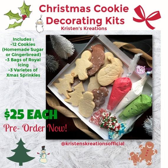 Christmas Cookie Decorating Kit.Christmas Cookie Decorating Kit