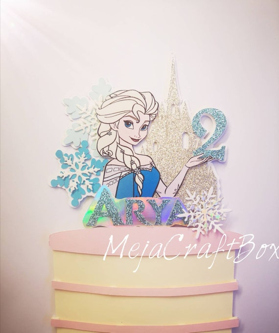 PERSONALISED FROZE OLAF BIRTHDAY CARD Any Name//Age