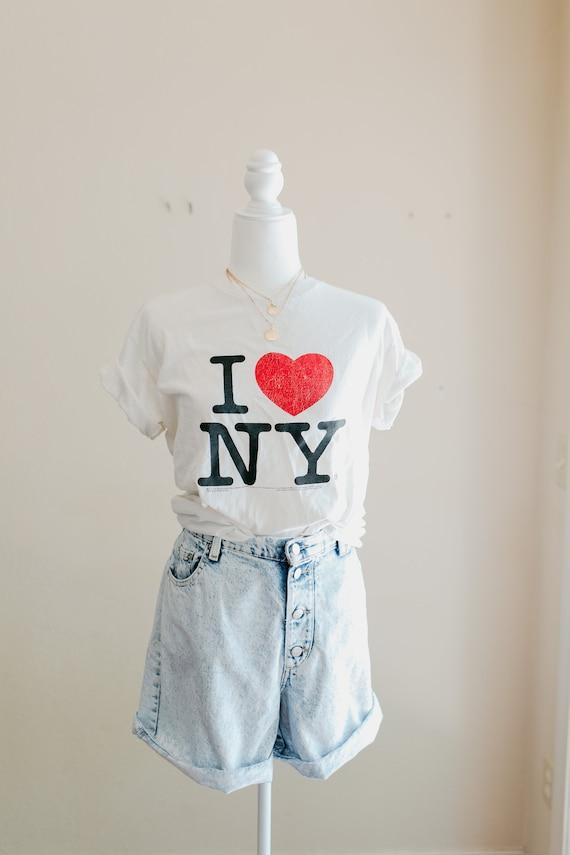 Vintage I love New York City T Shirt  | I love NYC