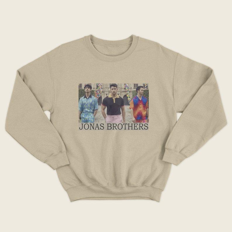 1bccc8e36 Jonas Brothers sweatshirt unisex Nick Jonas Joe Jonas | Etsy