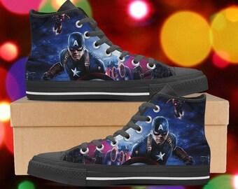 10b206c0ac0c Captain America shoes