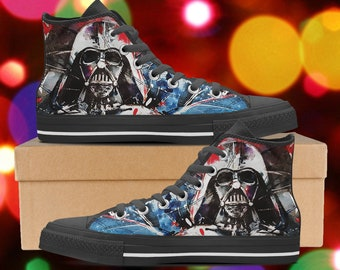 0eaa8d9e ... promo code for star wars shoes darth vader high tops star wars sneakers  look like converse