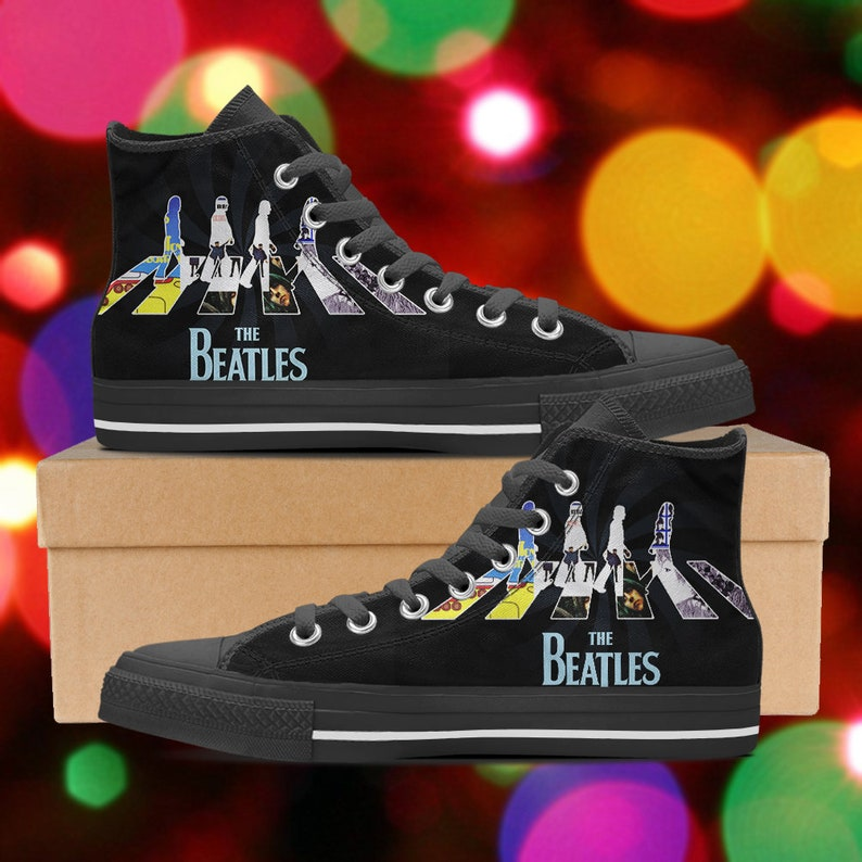 09e4a462ab64 The Beatles shoes The Beatles high tops The Beatles