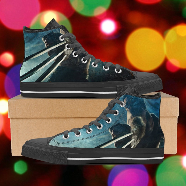 7f7c018dd7f9 Wolverine shoes Wolverine high tops x-men sneakers look