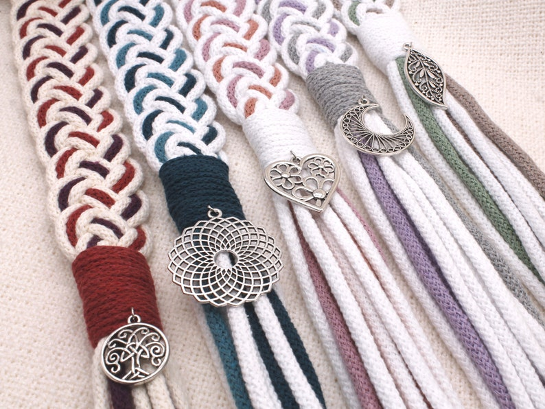 Custom Handfasting Cords in Your Colors  Personalize with image 0