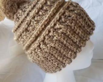 Katniss crochet hat  264f35425ba