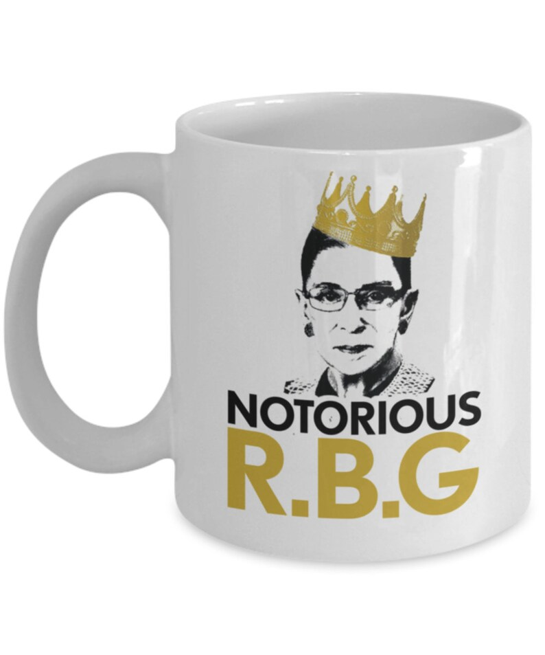 ed309d84247 Notorious Ruth Bader Ginsburg RBG Mug Mug Gift For Feminist | Etsy