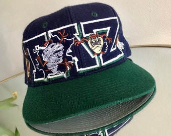 f4125b6cc3c 1993 Taz looney tunes wool Hat Starter snapback vintage cap sports  specialties basketball NBA retro strapback deadstock fitted baseball foo