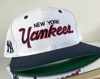 99799a16724b4 ... purchase new york yankees sports specialties script hat starter  snapback vintage cap sports specialties basketball nba ireland kangol 100  wool ...